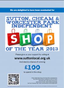 Shops Poster