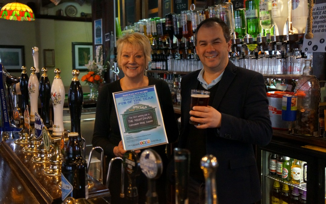 Nightingale Pub of the Year Again
