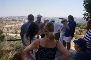 Overlooking Bethlehem from a vantage point previously under sniper fire