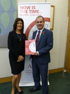 Paul Scully MP with Trudie
