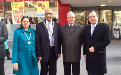 Celebrating Commonwealth Day in Sutton