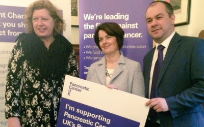 Hosting Pancreatic Cancer UK in Parliament