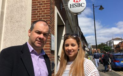 Fighting for Cheam as banks plan more closures