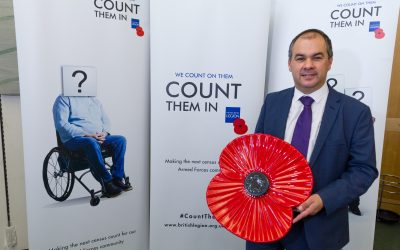 Supporting the 'Count Them In' campaign