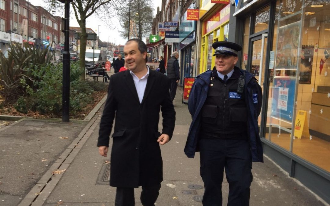 On the beat with the Metropolitan Police