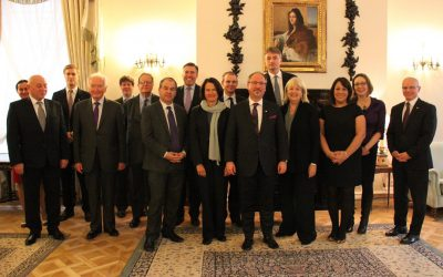 Meeting the Polish Ambassador