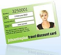 Jobcentre Plus Travel Discount Card