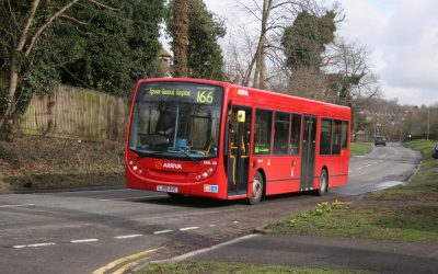 166 Bus Route Saved